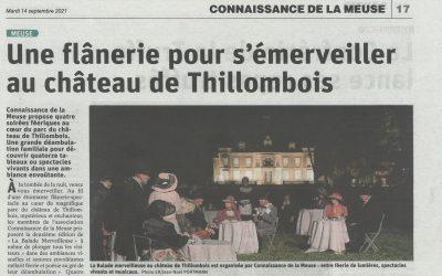 Une flânerie pour s'émerveiller au château de Thillombois
