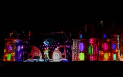 [ZOOM SUR LES ORPAILLEURS DE LUMIERE] Pour La Balade Merveilleuse, Jean-Luc Hervé (concepteur et réalisateur lumière) a créé un mapping à la fois étonnant et époustouflant sur la façade du château.
