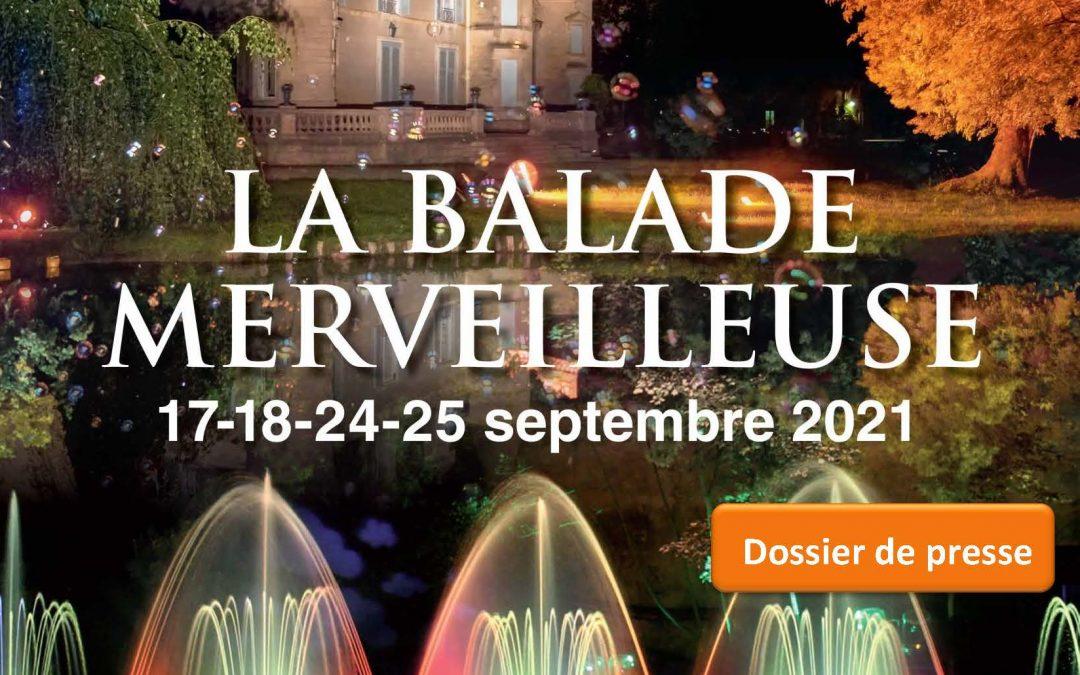 Dossier de Presse La Balade Merveilleuse édition 2021