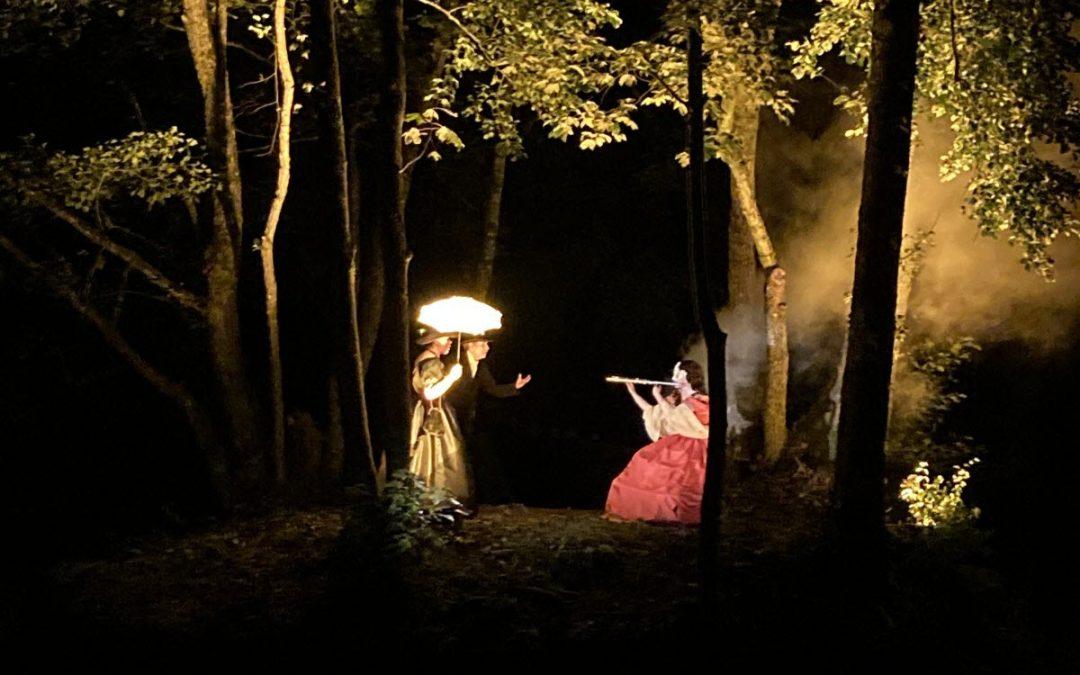 Thillombois Spectacle : la Balade merveilleuse dans le parc du château enchante et envoûte