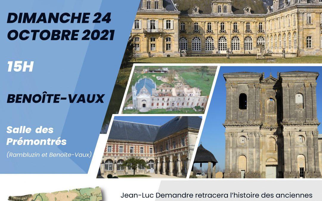 Conférence «Les anciennes abbayes prémontrées dans le département de la Meuse»