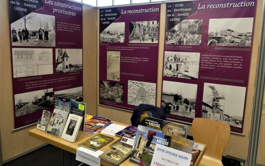 Connaissance de la Meuse participe à la 15ème édition des Journées d'Histoire Régionale, à Niderviller.