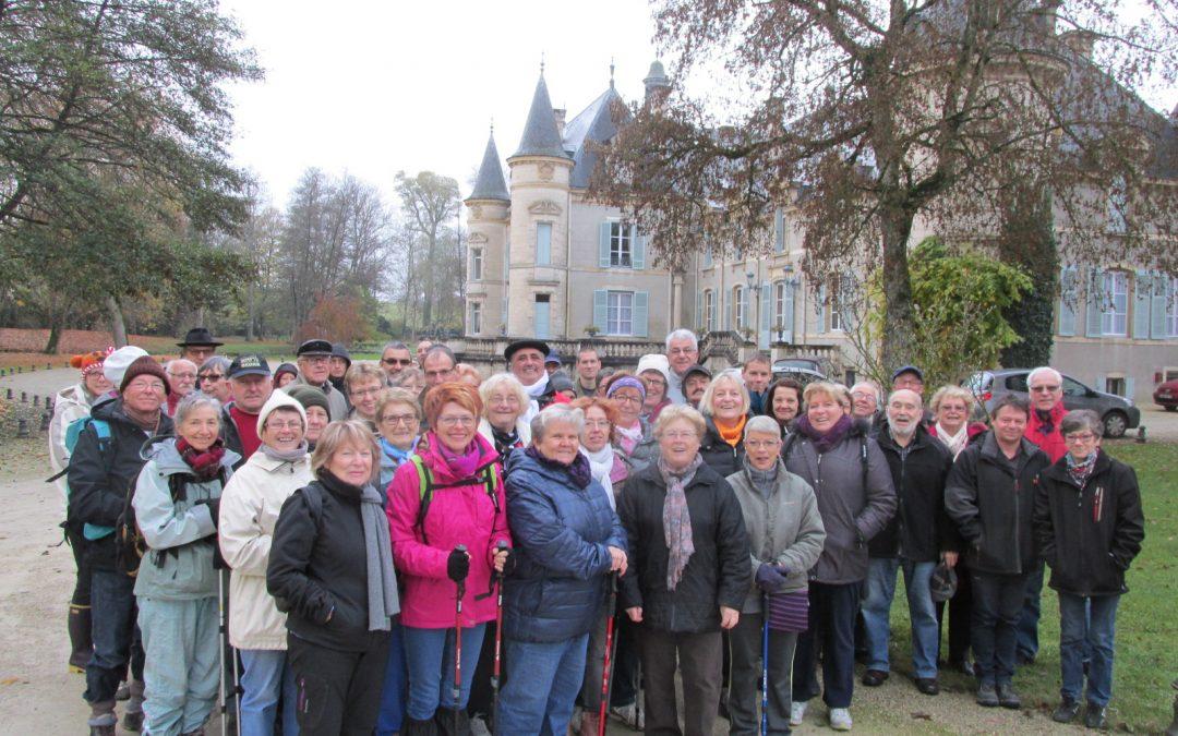 Marche Thillombois / Benoîte-Vaux  le dimanche 24 octobre de 9h00 à 12h00