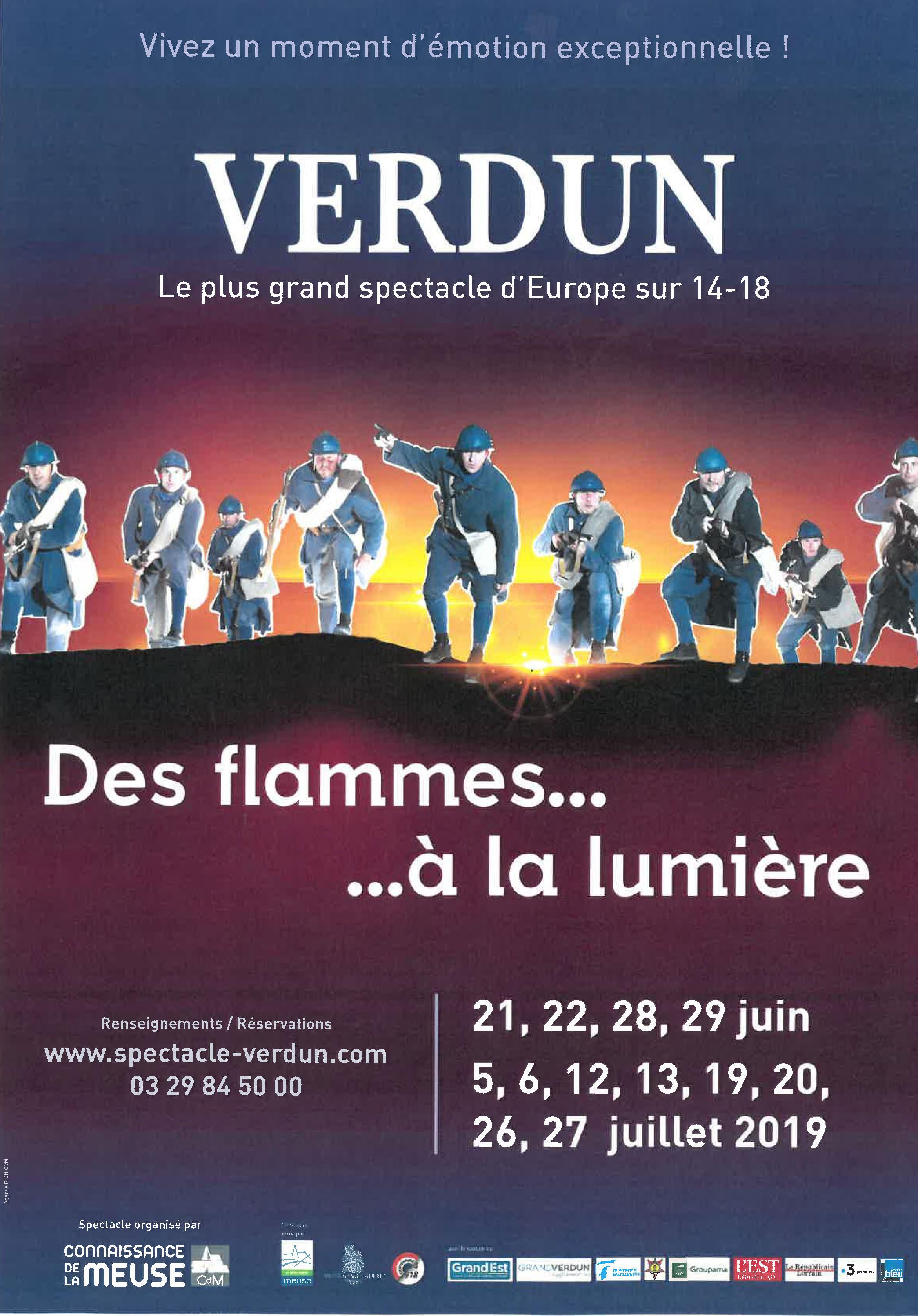 Dates 2019 Des Flammes à la Lumière