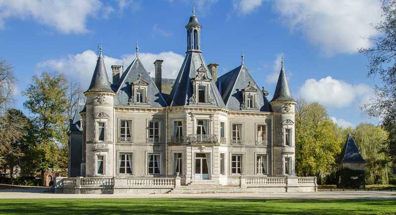 Château de Thillombois côté parc