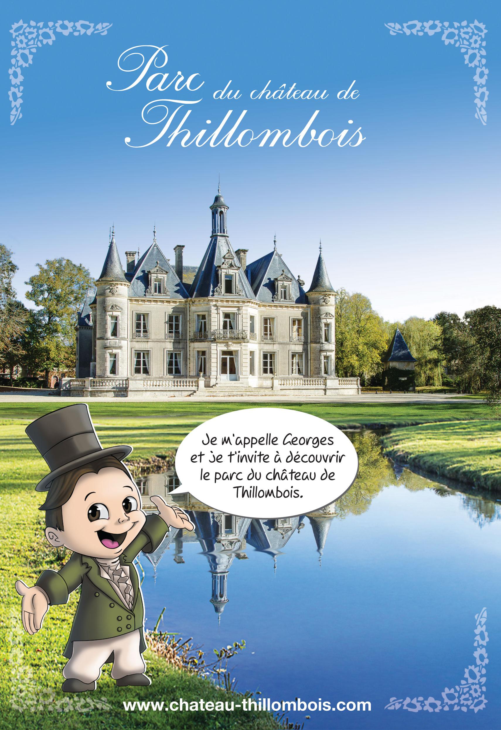 Parcours ludique parc château Thillombois