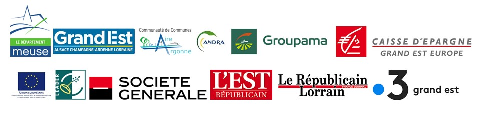logos partenaires St Nicolas au château de Thillombois 2020