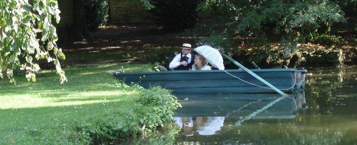 sortie romantique au fil de l'eau